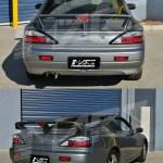 Black Led Tail Lights For Nissan Silvia 200sx S15 Sr20det Taillight Turbo Jdm Ebay
