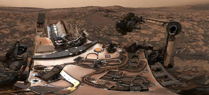 Curiosity, Mars'taki  tozlu gözyüzü altındaki gizemi araştırmaya devam ediyor