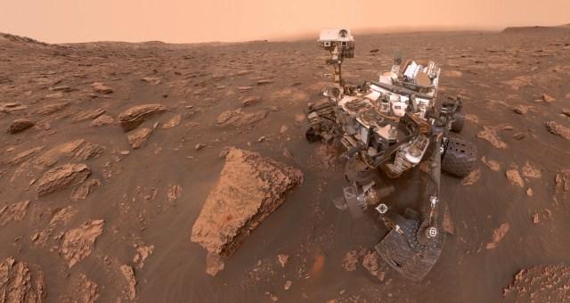 Curiosity gezgini, Mars'ta eski dev sellerin kanıtlarını buldu