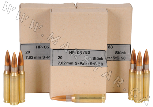 7 62x51 Nato ( 308 Win) AMMUNITION (Nato spec ammunition) Free Shipping to  most destinations