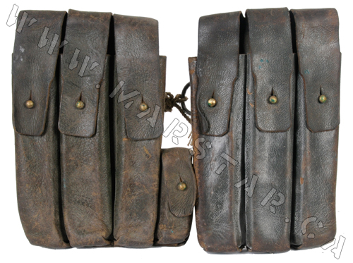 MP-38u40 Brown Leather Magazine Pouch (Set)