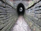 Marple towpath tunnel