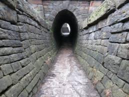 Marple towpath tunnel