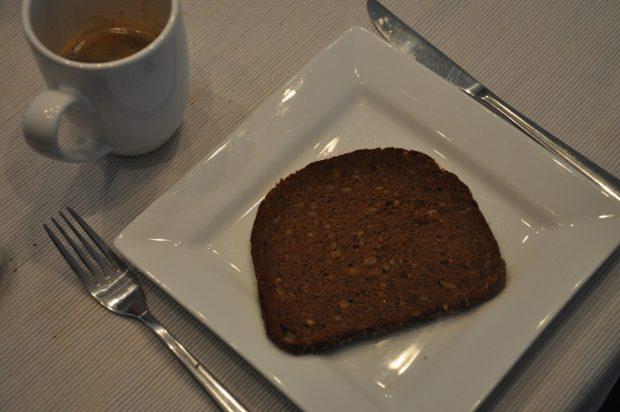 Waldkorn roggebrood is mijn favoriet.