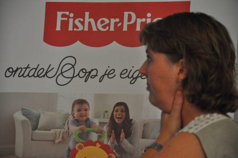 Yvonne van Fisher Price gaf leuke achtergrondinformatie over het merk én over wat er op de planning staat.