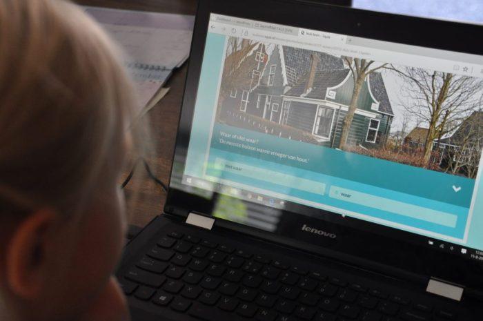 Je kind krijgt vragen over interessante weetjes, voorzien van een relevante afbeelding.