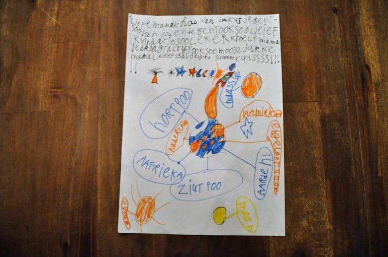 brief van mijn dochter