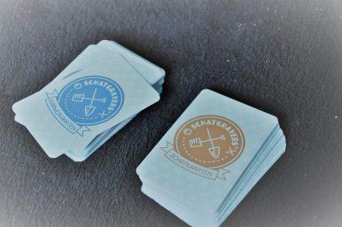 karweikaarten en schatkaarten coaching spel