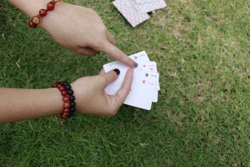 Kaartspelletjes spelen met kinderen