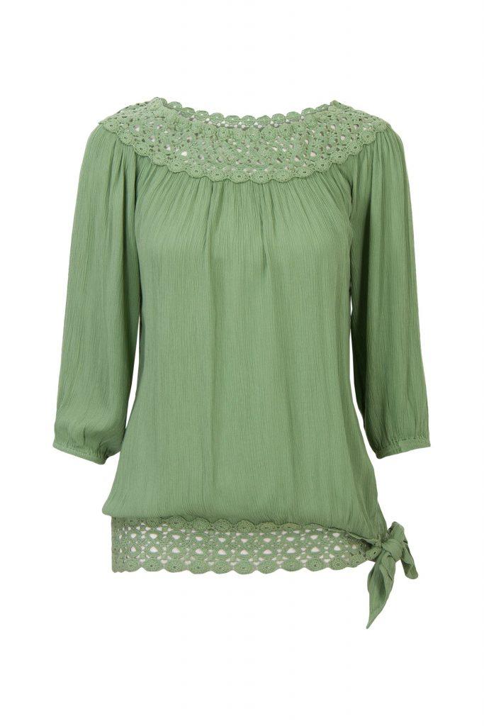 blouse miss etam