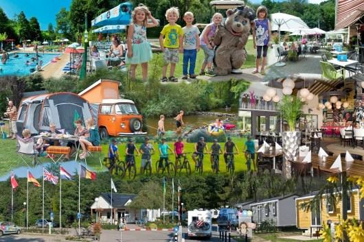 Collage Parc La Clusure