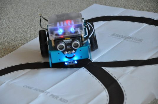 mbot robot makeblock bouwen