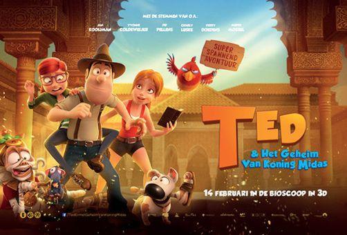 Ted en het geheim van koning midas film