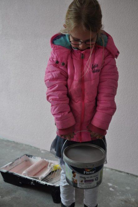flexa roze verf