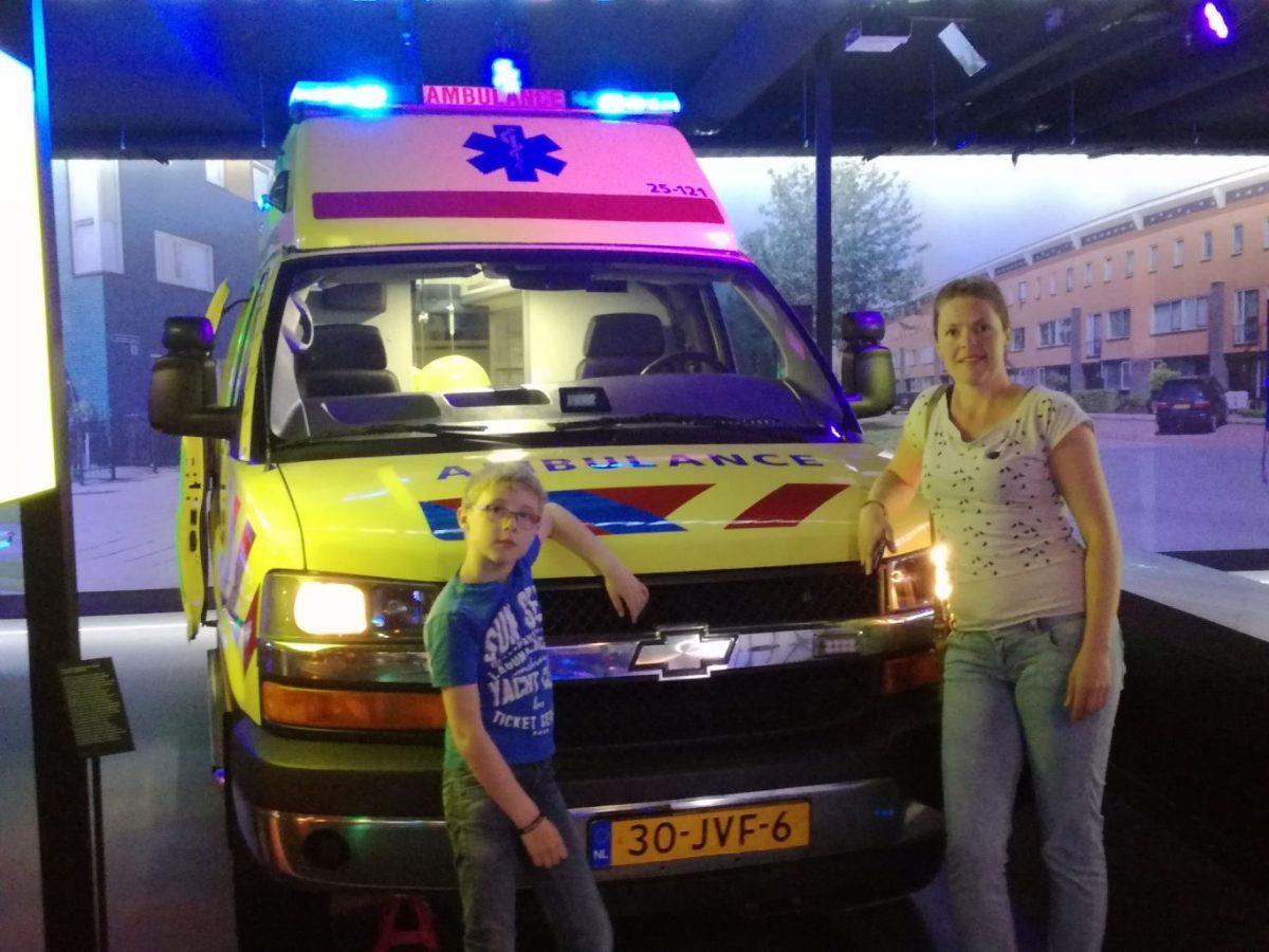 Marjolein bezocht met haar 9-jarige zoon het PIT Veiligheidsmuseum