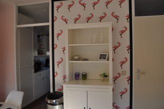 flamingo behang