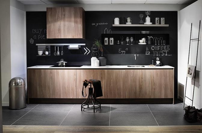 Keuken Zwart Stoere : Inspiratie voor de stoere keuken ⋆ marstyle