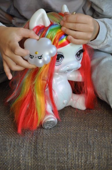 poopsie surprise unicorn haren kammen