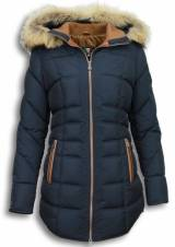 style italy milan-ferronetti-winterjassen-dames-winterjas-lang
