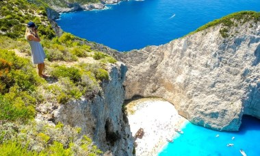shipwreck beach in griekenland