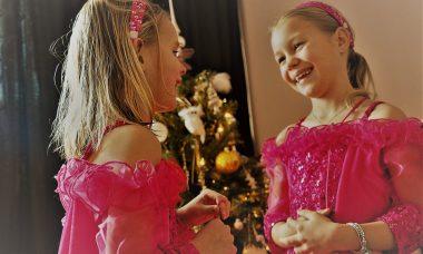 souza prinsessenjurken kerstfotoshoot