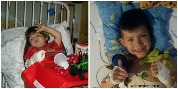 wereldvanmama zoon na operatie