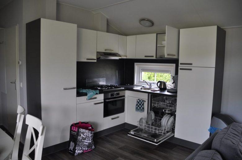 de leistert camping lodge keuken