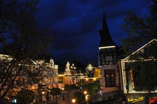 europapark ervaring by night