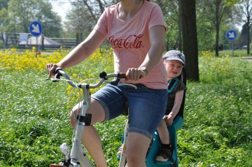 Qibbel Air achterzitje voor de fiets
