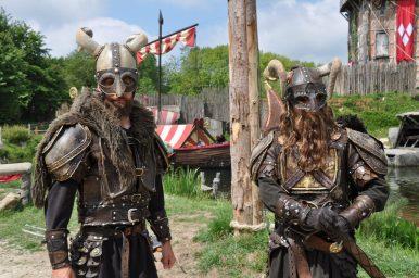 les vikings in puy du fou