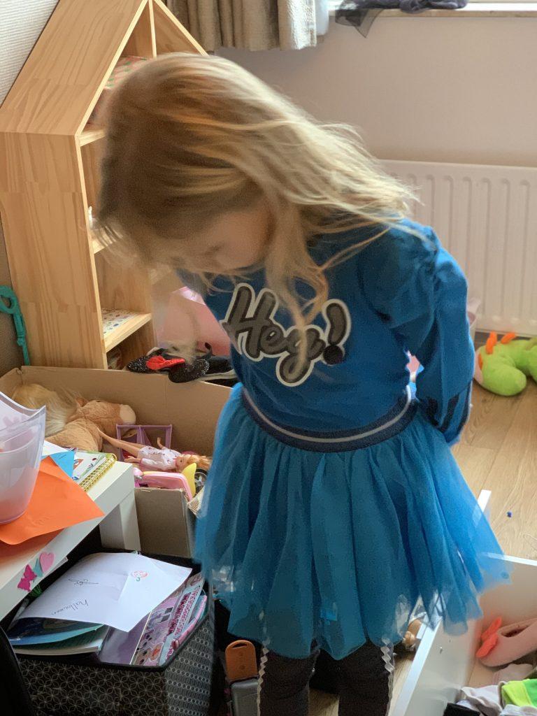 bnosy outfit blauw