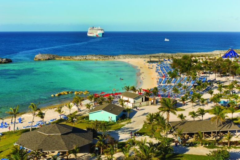 NCL Breakaway at Great Stirrup Cay
