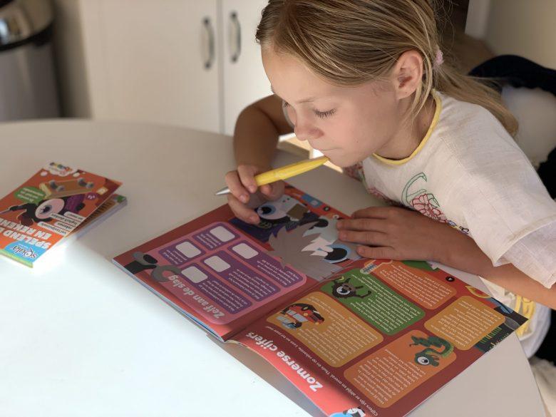 squla denksport junior puzzelboek