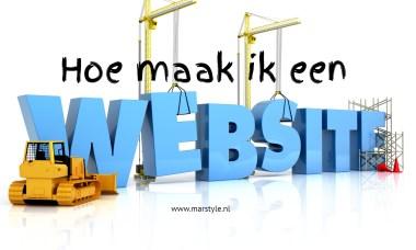 hoe maak ik website