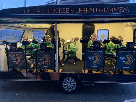 drumfeestje drumcaravan