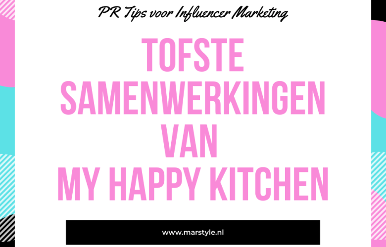 samenwerkingen my happy kitchen
