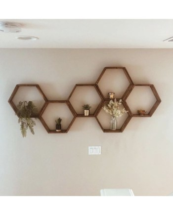honeycomb wall decor pakistan
