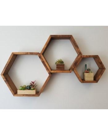 jj honeycomb wall decor