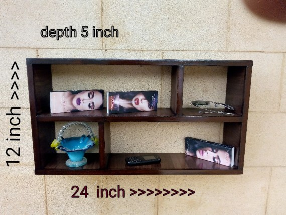 wall decor furniture shelf size