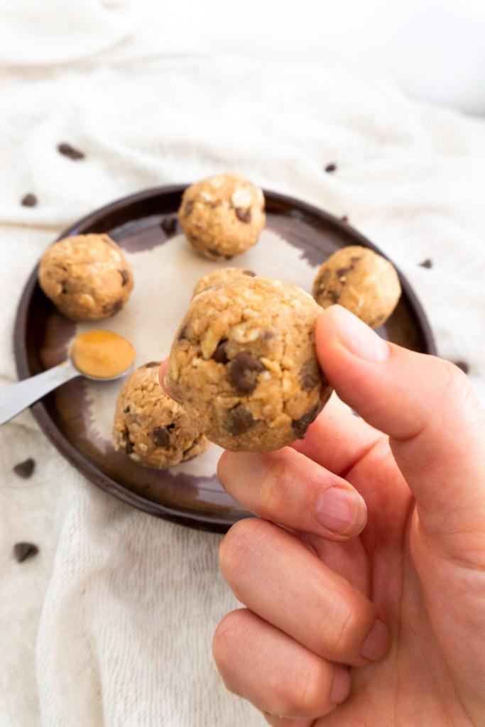 energy balls veganas y sin gluten