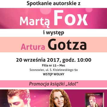 Marta Fox i Artur Gotz w Sosnowcu