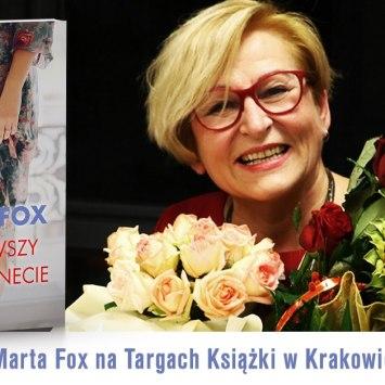 Marta Fox na Międzynarodowych Targach Książki w Krakowie