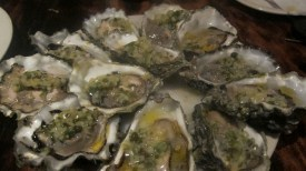 Oysters at One Eared Stag