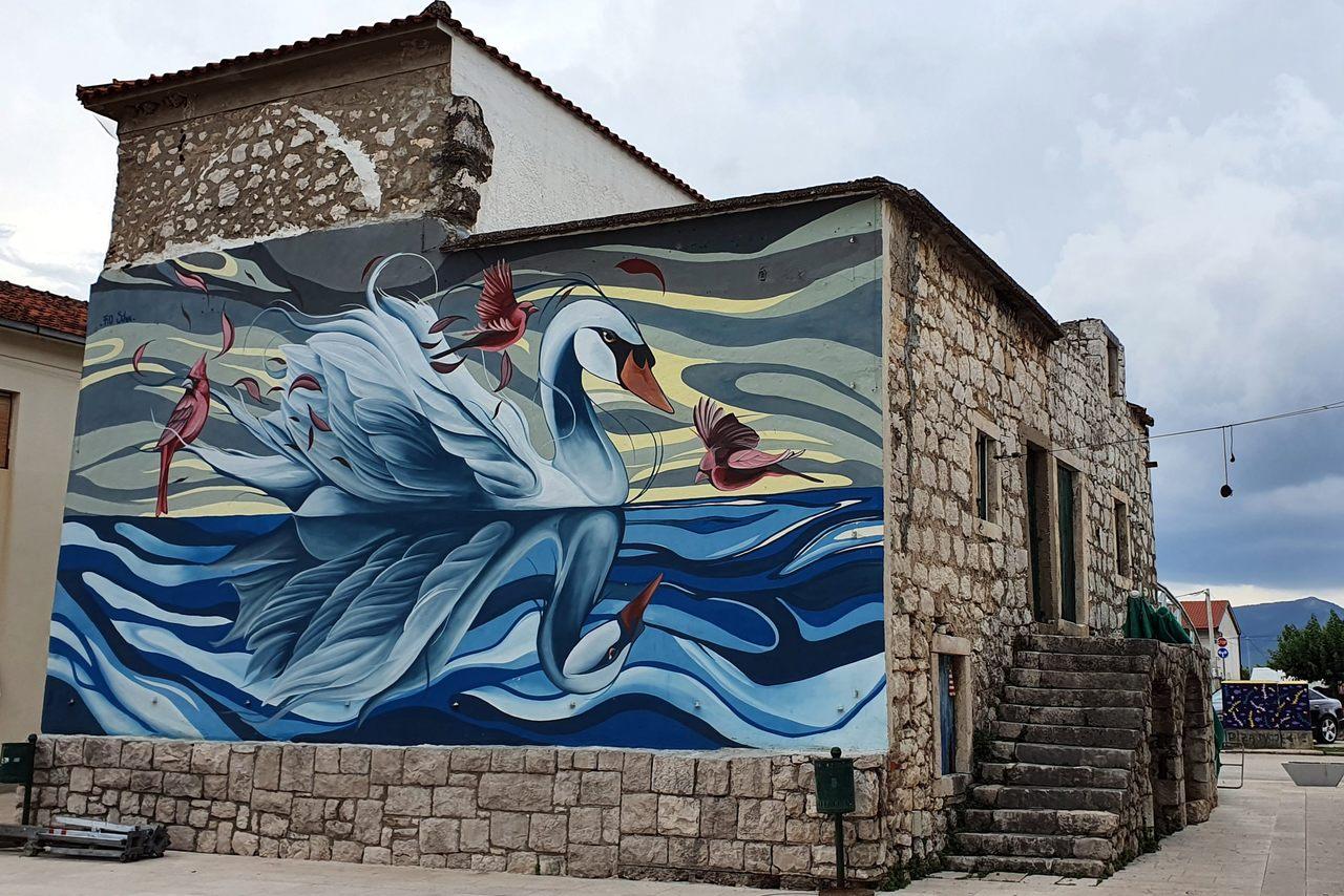 Opuzen murale