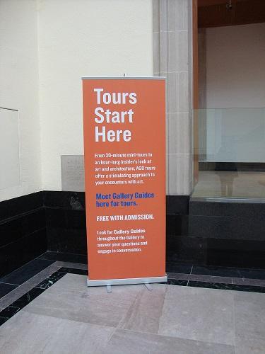 Visitas guiadas en el Art Gallery of Ontario, Toronto