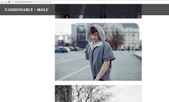 Publikacja w Fashionably Male