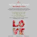 Taller floral martamajo flors, la indicial del teu nom