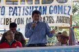Patishtan pronuncia un discurso en tsotsil y en español