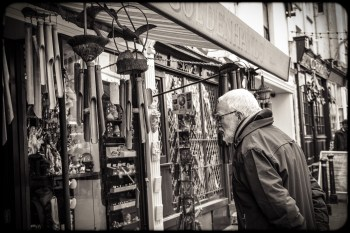 2016 Hastings Man Looking at Wooden Chimes small