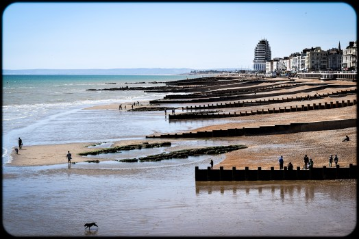 2016 Hastings View Down Beach From Pier small